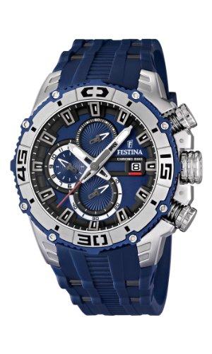 54fc3f63604b Festina 16601 1 - Reloj cronógrafo de cuarzo para hombre con correa ...