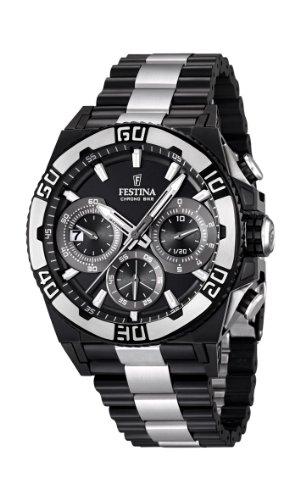 3dc464133a72 Festina F16660 1 - Reloj cronógrafo de cuarzo para hombre con correa ...