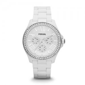 54f1cd9c68d9 Fossil AM4494 – Reloj analógico de cuarzo para mujer con correa de  plástico
