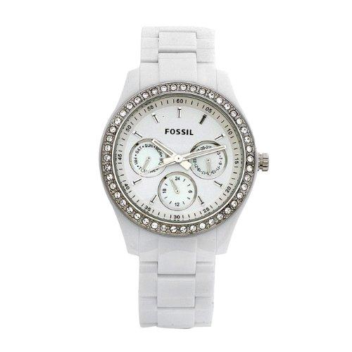 53662e7d5b88 Fossil ES1967 - Reloj analógico de cuarzo para mujer con correa de ...