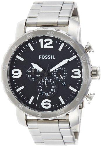 c652ec294bf9 Fossil JR1353 – Reloj analógico de cuarzo para hombre con correa de acero  inoxidable ...