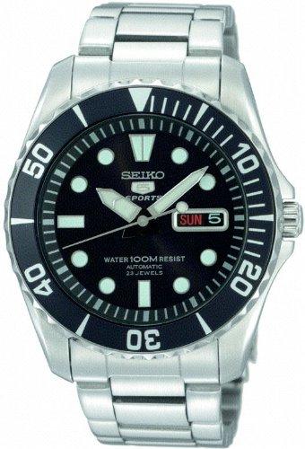 Seiko SNZF17K1 - Reloj analógico de caballero automático con correa ... 36502c2cae23
